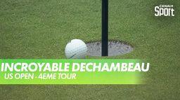 DeChambeau frôle le trou en un : US Open 4ème tour