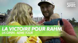 Première victoire en majeur pour Rahm : US Open