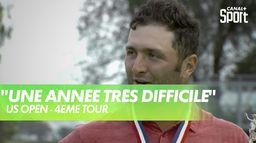 """Rahm : """"Ce fut une année difficile"""" : US Open"""