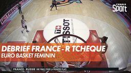 Le débrief et les réactions de France / République Tchèque : Euro Basket Féminin
