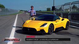 Zone Rouge : La Maserati MC20 La nouvelle supercar !