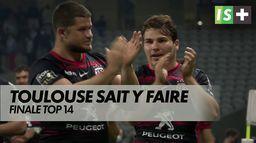 Toulouse sait comment aborder une finale : TOP 14 : Toulouse