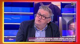 Pierre Ménès visé par des accusations de sexisme : il s'explique dans TPMP