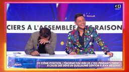 L'indic de la rédac : l'énorme fou rire de Cyril Hanouna et Sasha Elbaz
