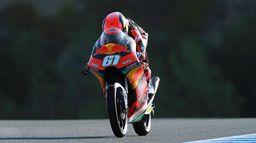 Warm up des Moto GP