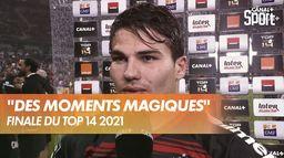 """Antoine Dupont : """"Sur des matchs comme ça, on oublie la fatigue"""" : Finale du Top 14"""