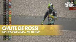 Valentino Rossi chute