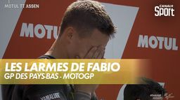 Les larmes de Fabio pendant la Marseillaise