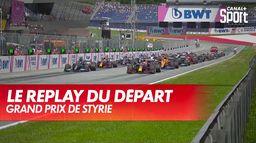 Le départ du GP et l'abandon de Pierre Gasly