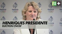 Brigitte Henriques nouvelle présidente du CNOSF