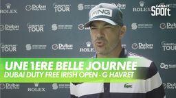 Une belle journée de golf pour Gregory Havret