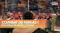 Sipi Tau et combat de Hakas entre All Blacks et Tonga