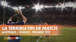 L'horrible erreur qui coûte la victoire à la France, en Australie ! : Australie / France - Premier test