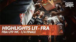 Les highlights de Lituanie - France