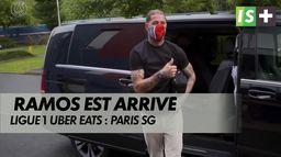 Premier entraînement pour Ramos : Ligue 1 Uber Eats