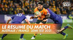 Le résumé d'Australie / France : 2ème Test