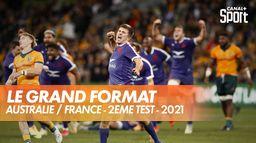 Le grand format du 2ème test Australie / France : Tournée du XV de France en Australie 2021