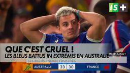 Les Bleus à un cheveu de l'exploit ! : Autralie-France, 3ème test-match