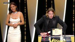 Le prix d'interprétation masculine est décerné à Caleb Landry Jones - Cannes 2021