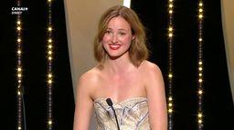 Renate Reinsve remporte le prix d'interprétation féminine - Cannes 2021