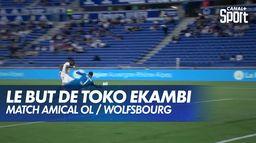 Toko Ekambi ouvre le score rapidement pour l'OL