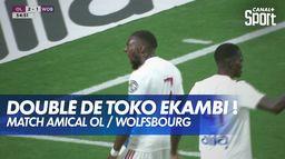 Le doublé de Toko-Ekambi, l'OL reprend le large !