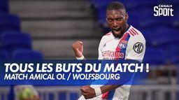 Les buts de Lyon / Wolfsbourg : Match amical