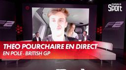 Théo Pourchaire en direct dans En Pole : Grand Prix de Grande-Bretagne