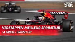 Verstappen : meilleur sprinteur : Grand Prix de Grande-Bretagne