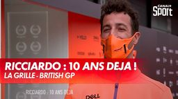 Ricciardo : 10 ans déjà