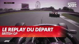 Le replay du départ du British GP