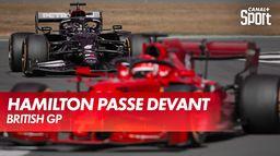 Victoire de Lewis Hamilton