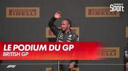 Le podium du Grand Prix