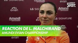 La réaction de Lucie Malchirand après le 3ème tour