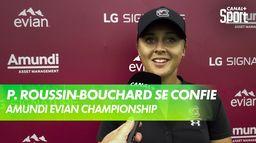 La réaction de Pauline Roussin-Bouchard après son 3ème tour