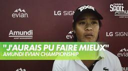 La réaction de Céline Boutier après le 4ème tour - Amundi Evian : Amundi Evian Championship