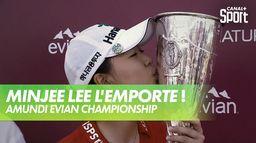 Minjee LEE vainqueur en play-off face à LEE6 - Amundi Evian : Amundi Evian Championship