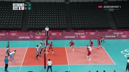 Volley-ball : Argentine / France