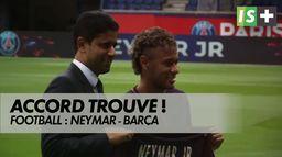 Neymar et le Barça ont trouvé un accord