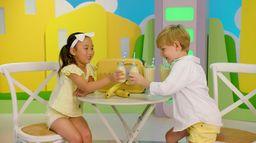A vos marques, prêts, dansez ! : Le smoothie à la banane