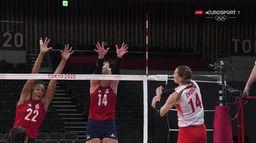Volley-ball : Etats-Unis / Turquie