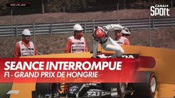 Sortie de piste de Yuki Tsunoda - GP de Hongrie