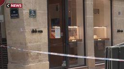 Nouveau braquage d'une bijouterie à Paris