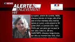 Une alerte enlèvement lancée pour un enfant de huit ans disparu à Lannion (Côtes-d'Armor)