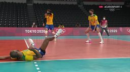 Volley-ball : Argentine / Brésil