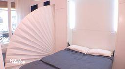 Découvrez l'aménagement de cet appartement parisien de 20m²