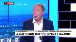 Vincent Delahaye sur le reconfinement en Martinique : «Il va bien falloir à un moment donné retrouver une vie normale»