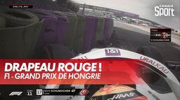 Grosse faute de Mick Schumacher - GP de Hongrie : Grand Prix de Hongrie