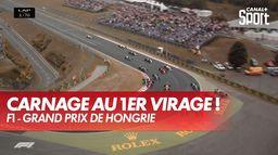Quel début de course ! - GP de Hongrie