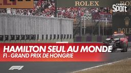 Hamilton seul sur la grille de départ ! - GP de Hongrie